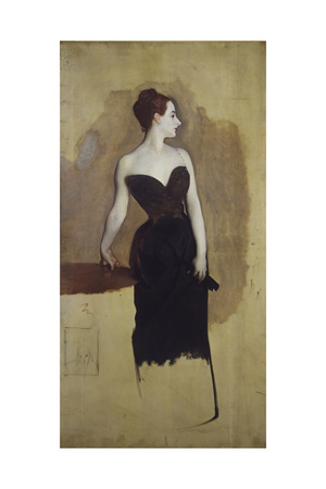 Study of Mme Gautreau Giclee Print by John Singer Sargent