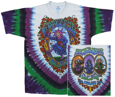 Grateful Dead- Seasons Of The Dead (Front/Back) Shirts