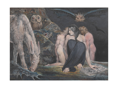 The Night of Enitharmon's Joy (Formerly Called 'Hecate') Giclee Print by William Blake