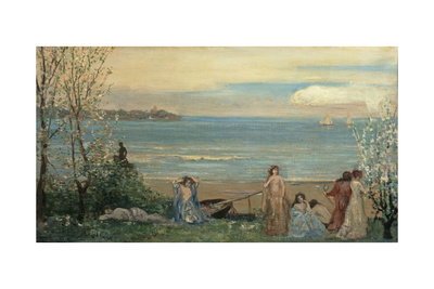 Spring by the Sea Giclee Print by Charles Conder
