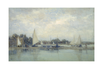 High Tide, Blakeney Giclee Print by Sir Walter Russell