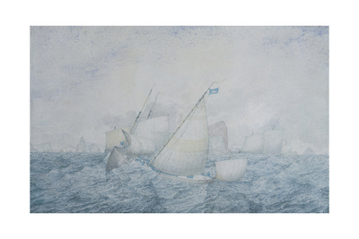 The Pilot Boat Giclee Print by Richard Dadd