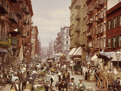 Mulberry Street, New York City Photo