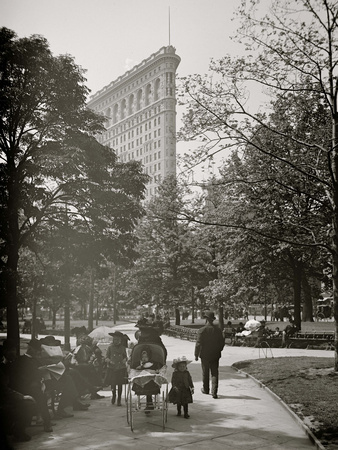 New York, N.Y., Flatiron Bldg. from Madison Square Park Photo