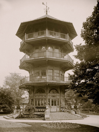 Observatory, Patterson Park, Baltimore, Md. Photo