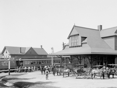 Lackawanna Railway Station, Mt. Pocono, Pa. Photo