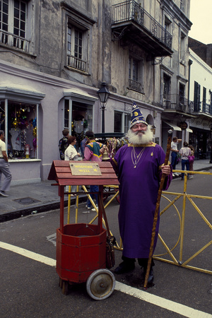 Mardi Gras Music Man Photo by Carol Highsmith!