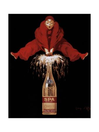 Spa-Monopole Poster by Jean D'Ylen