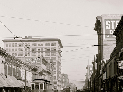 Second Avenue, Looking East, Birmingham, Ala. Photo