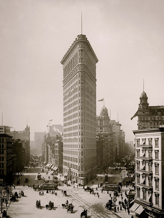Flatiron Building, Broadway and Fifth Av., New York City Photo