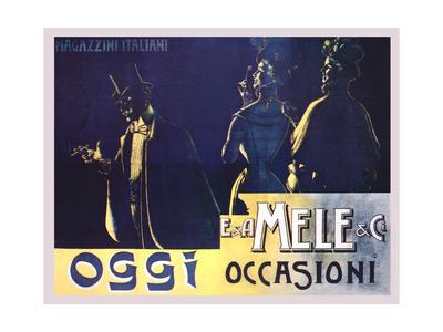 Today's Occasion Posters by Aleardo Villa