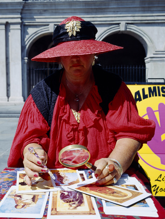 Tarot Card Reader Photo by Carol Highsmith