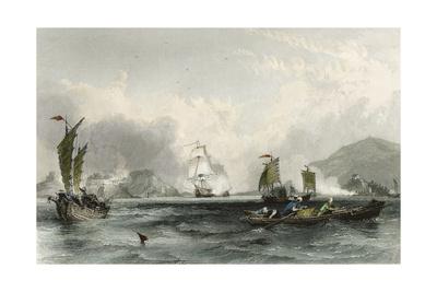 Imogene and Andromache Bocca Tigris Prints by Thomas Allom
