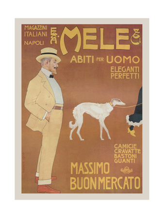 Apparel for Men - Elegant and Perfect Posters by Aleardo Villa