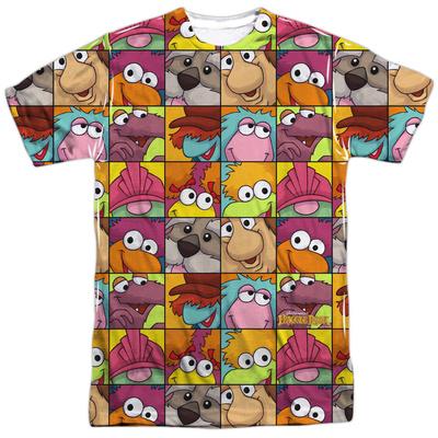 Fraggle Rock- Character Squares T-Shirt
