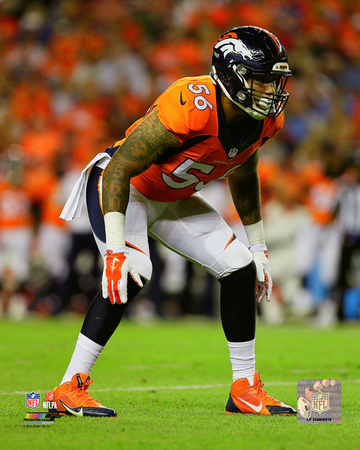 Shane Ray 2015 Action Photo