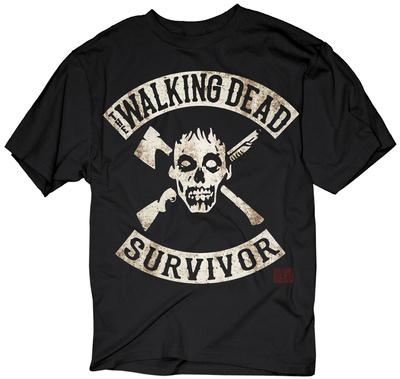 The Walking Dead- Survivor T-Shirt