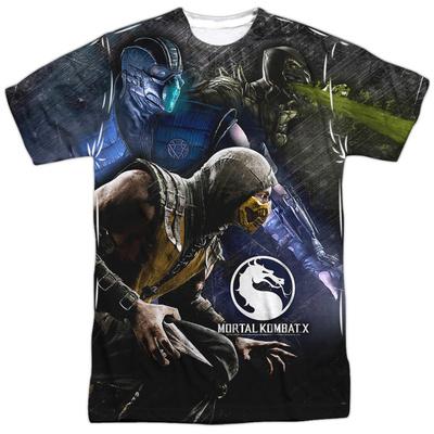 Mortal Kombat X- Three Of A Kind Shirts