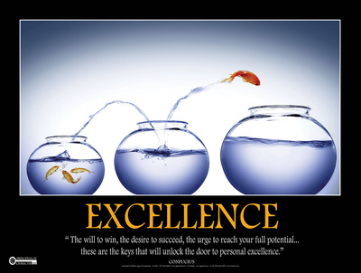 Excellence Posters