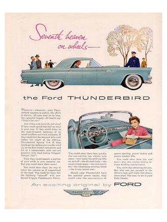 1955 Thunderbird 7th Heaven Art