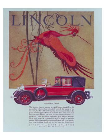 1928 Lincoln Cabriolet Prints