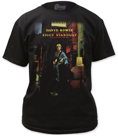 David Bowie- Ziggy Plays Guitar T-Shirt