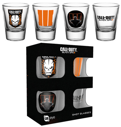 Call Of Duty Mix Shot Glass Set Originalt
