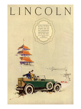1925 Model L Lincoln-1 Posters