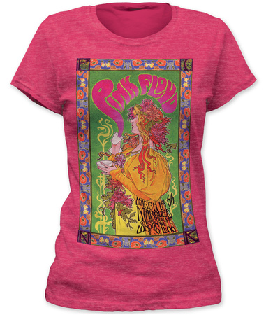Juniors: Pink Floyd- Marquee Poster T-Shirts