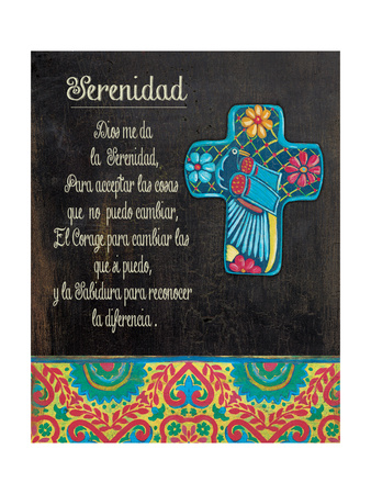 Serenity Prayer Posters by Jo Moulton