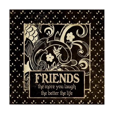 Friends Prints by Jo Moulton