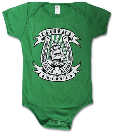 Infant: Dropkick Murphys- Horseshoe Onesie Infant Onesie
