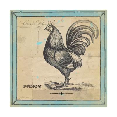 Fancy Rooster Art by Jo Moulton