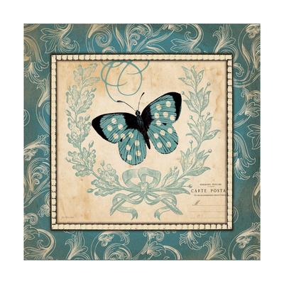 Vintage Butterfly Prints by Jo Moulton