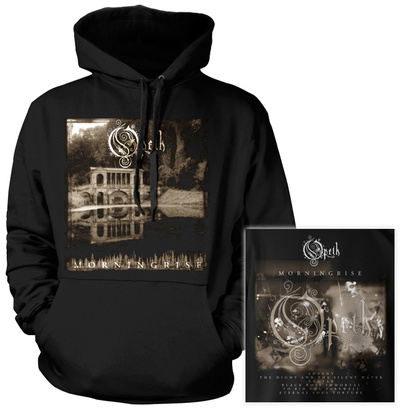 Hoodie: Opeth- Morningrise (Front/Back) Pullover Hoodie