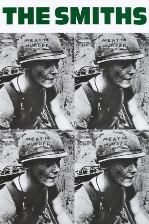 The Smiths- Meat Is Murder ポスター