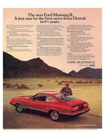 1974 Mustang II Best News Prints
