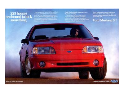 1993 Mustang - 225 Horses Prints