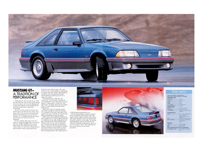 1989 Mustang GT Tradition… Posters