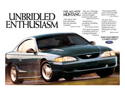 1994 Mustang - Enthusiasm Prints
