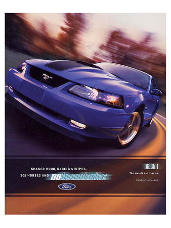 2003 Mustang- Muscle Car Lives Posters