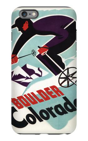 Ski Boulder, Colorado iPhone 6s Plus Case by  Lantern Press