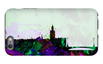 Stockholm City Skyline iPhone 6s Plus Case by  NaxArt
