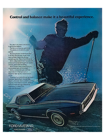 1972 Control & Balance Mustang Prints