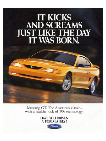 1995Mustang-It Kicks & Screams Prints