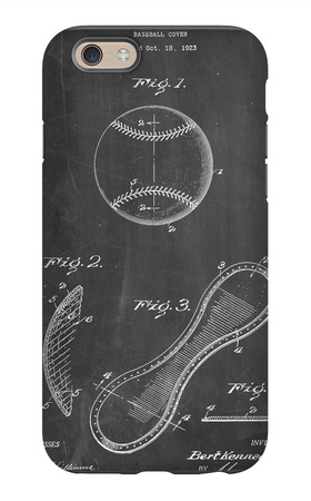 Baseball Patent 1923 iPhone 6s Case