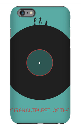 Music Is An Outburst Of The Soul iPhone 6 Plus Case by  NaxArt