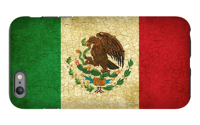 Grunge Flag Of Mexico iPhone 6 Plus Case by Graphic Design Resources