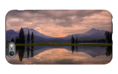 Pre Dawn in the Central Cascades iPhone 6 Plus Case by Vincent James