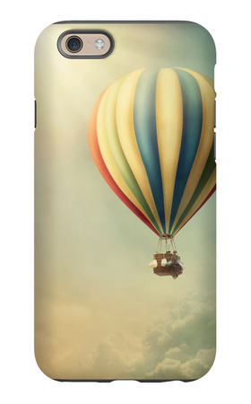 Hot Air Baloon iPhone 6s Case by  egal